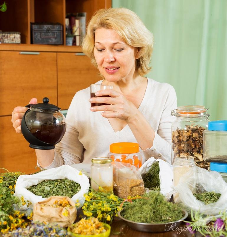 Herbaty na różne schorzenia