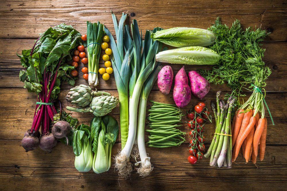 Warzywa na surowo