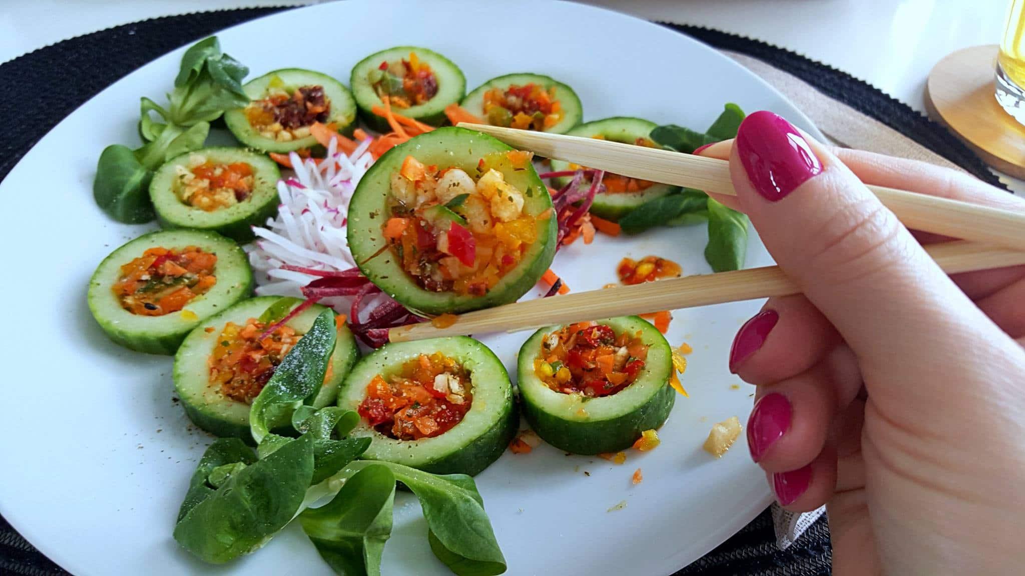Sushi warzywne