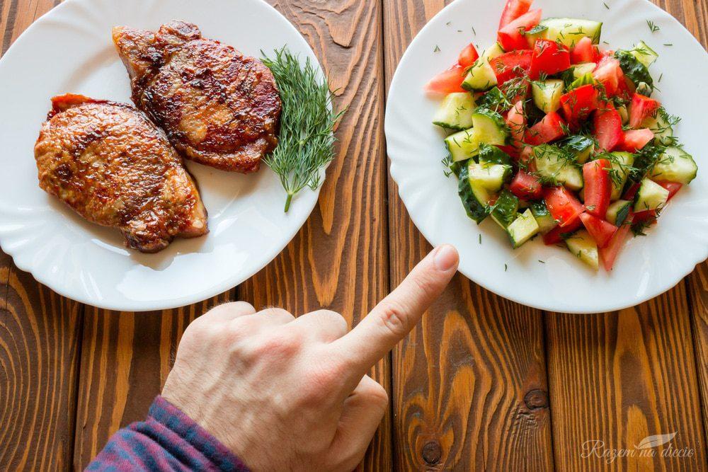 Czy można odmówić niezdrowego jedzenia