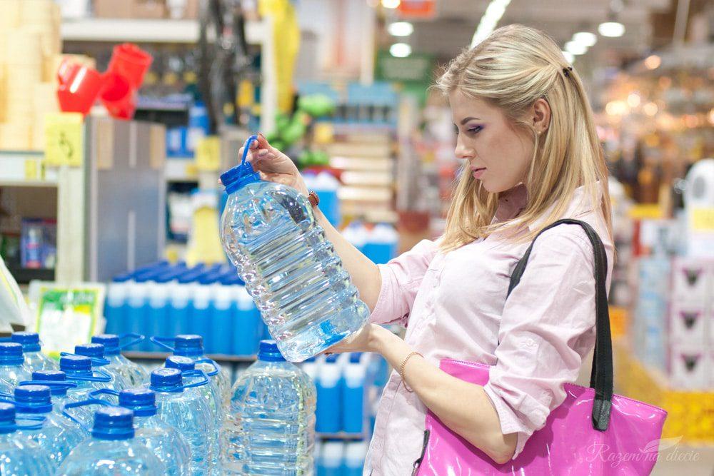 Rodzaje wody do picia