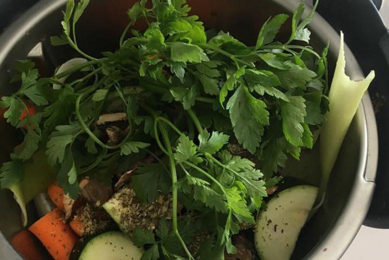 Koncentrat bulionu warzywnego