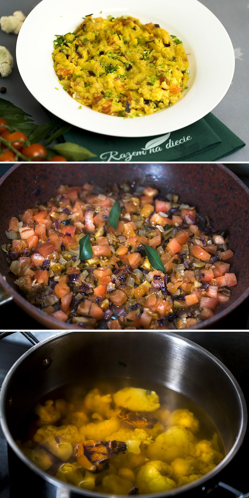 Kalafiornica z pomidorami
