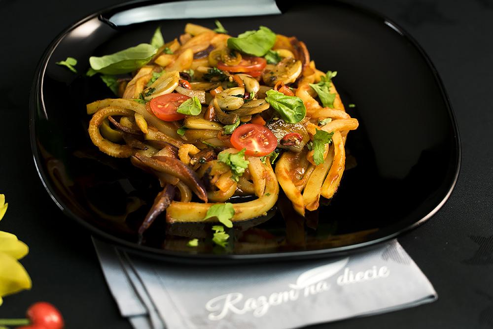 Pomidorowe a'la aglio olio