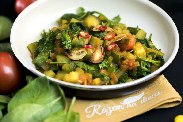 Ogórkowe curry