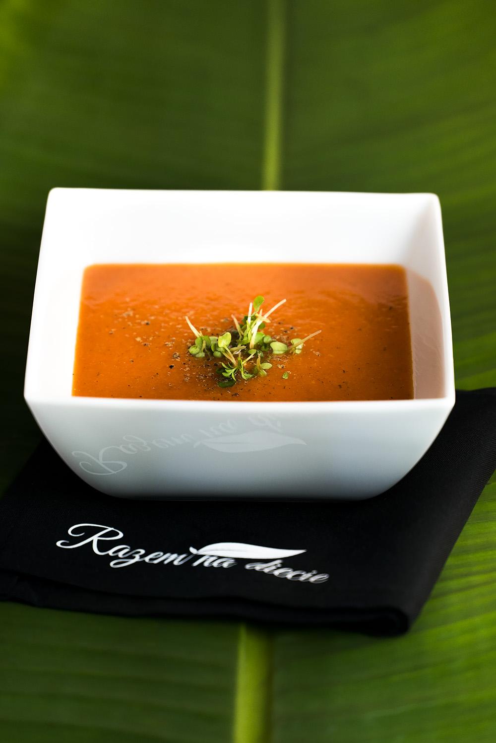 Zupa z dyni i papryki