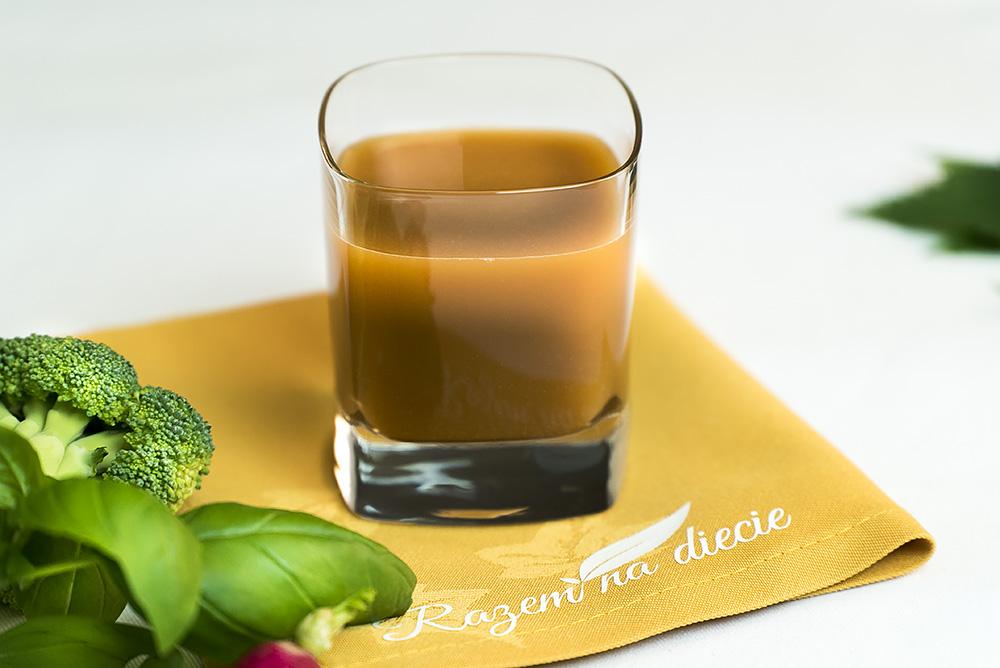 Postny sok z brokułów