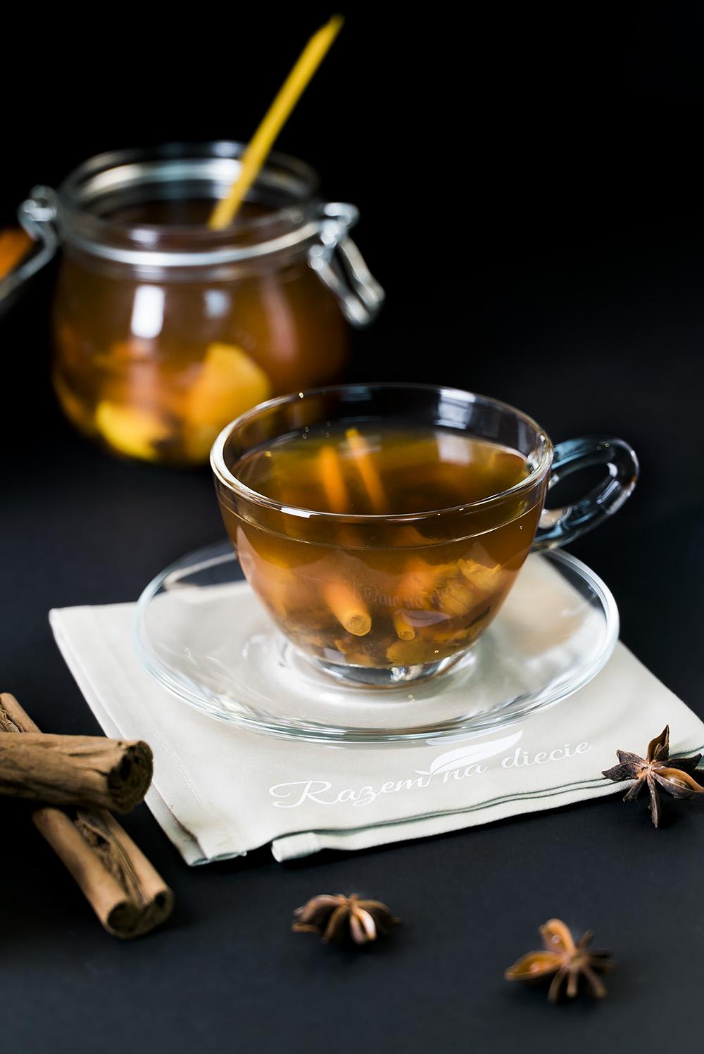 Zimowa herbata orientu