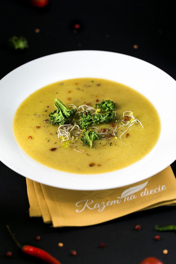 Krem curry z kalafiora