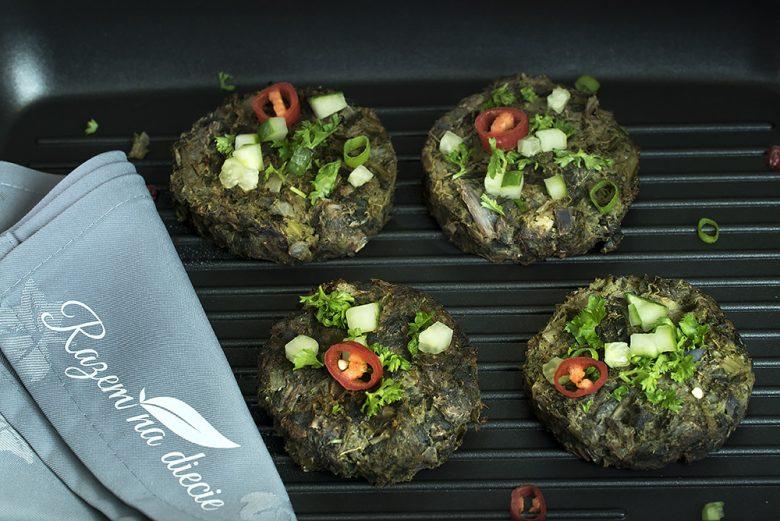 Zielone burgery