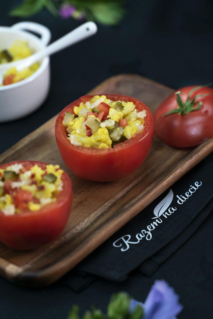 Pomidory faszerowane kalafiorem