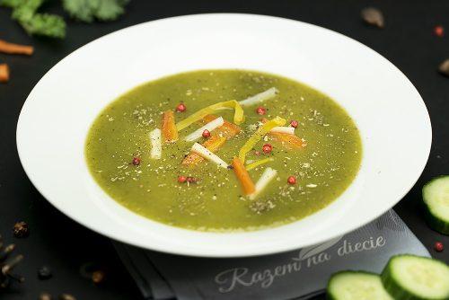 Zupa krem z ogórka zielonego